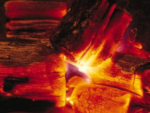 charcoal-flame